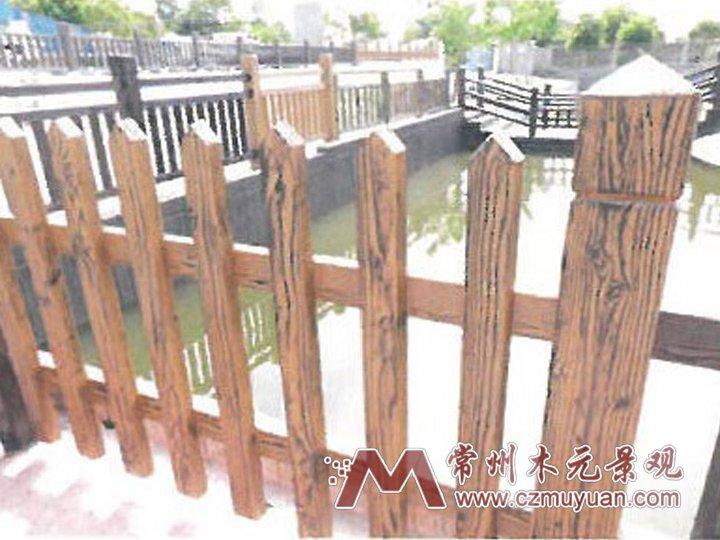 FM01水泥仿木栏杆