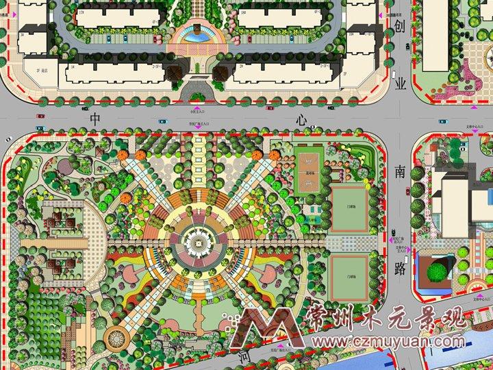 居住类建筑设计 案例概述: 案例详情图片集锦  居住区规划设计
